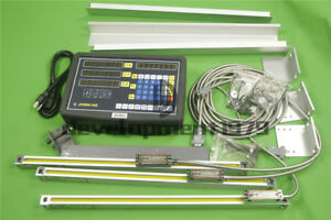 3 Axis Dro Digital Readout With Precision Linear Scale For Milling Lathe Machine