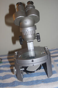 Olympus Vt ii Stereo Microscope 10x And 20x Magnification Power