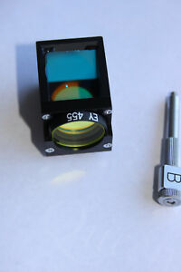 Olympus Imt 2 Microscope Fluorescence Filter Block Cube B With Ey 455
