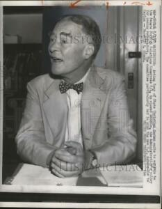 1957 Press Photo Secretary of State Christian Herter at Foreign Relations Commit