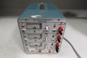 Power Designs Tp340a Triple Output Dc Power Supply