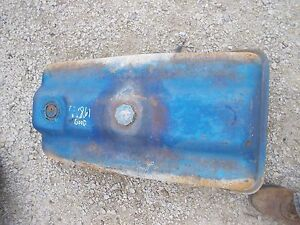 Ford 861 Tractor Good Useable Gas Tank With Cap