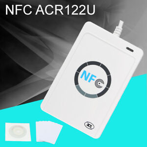 Nfc Acr122u Rfid Contactless Smart Reader Writer usb Sdk Ic Card