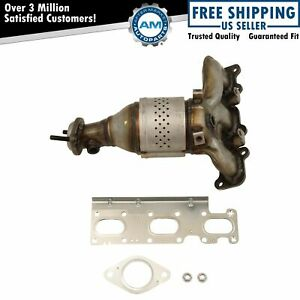 Exhaust Manifold With Catalytic Converter Gasket Hardware Rh For Ford Lincoln