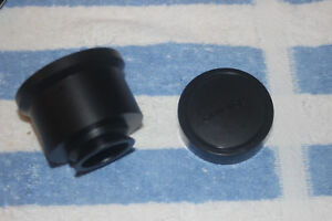 Olympus Imt 2 Inverted Microscope Photo Eyepiece Camera Port Adapter