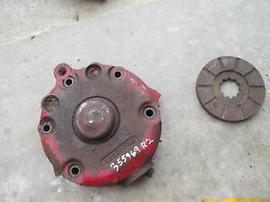 Farmall Sc Ih Tractor Disc Disk Brake Cover Housing Disks Assembly 355969r2