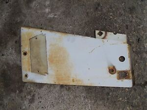 Farmall 706 Tractor Ih Ihc Front Right White Radiator Side Cover Panel