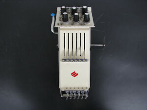 Melco Emc 6 4t 6 Needle Head case Assembly Industrial Embroidery Machine Emc6