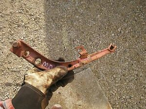 Farmall M Early Sm Mv Md Tractor Ih Belly Pump Hydraulic Linkage Rod Holder