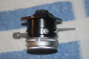 Leitz Microscope Swing Out Pol Condenser Laborlux Ortholux