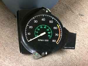 Nos 1980 Ford Mustang 8000 Rpm Tachometer