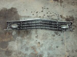1974 1975 1976 Plymouth Duster Valiant Grille Grill Panel mopar Very Nice