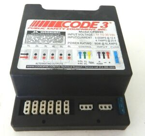 Code 3 Cps690 Remote Strobe Power Supply Amp