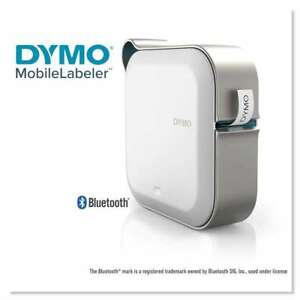 Dymo Mobilelabeler Bluetooth Label Maker 4 Lines 8 3 10w X 4 4 071701003959