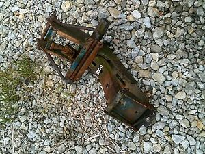 Ford 3000 Diesel Tractor Easy Rider Middle Seat Assembly