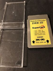 Chrysler Super Card 2 Program Card For Drb Iii Drb 3 Diagnostic Scan Tool Ch8361