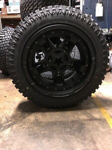 Kmc Xd827 Rockstar 3 20x12 Wheels 33 Atturo Xt Tire Package Dodge Ram 3500 8lug