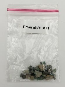 Authentic Emeralds 11 From Brazil From Shipwreck Antique Shop