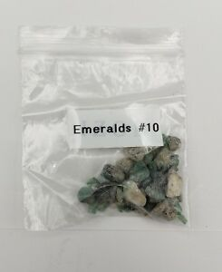 Authentic Emeralds 10 From Brazil From Shipwreck Antique Shop