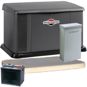 Briggs Stratton 20kw Aluminum Standby Generator System 200a Service Disc