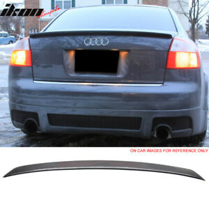 Fits 02 05 Audi A4 B6 Sedan A Type Trunk Spoiler Painted lx7z Dolphin Gray