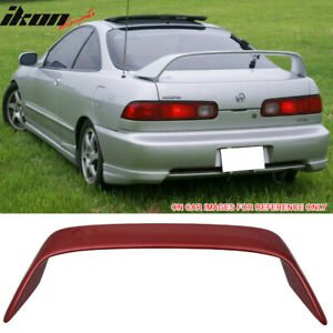 Fits 94 01 Integra Dc2 Type R Painted R505p Cayenne Red Metallic Trunk Spoiler