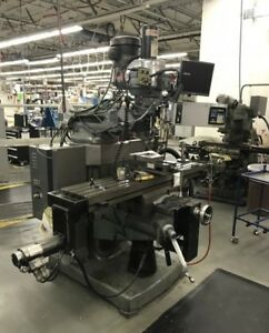 Bridgeport ez trak Sxii Cnc Vertical Mill 28413