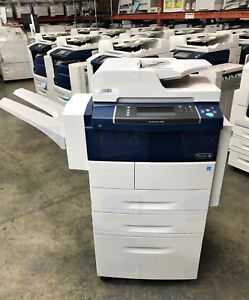 Xerox Workcentre 4265xf A4 Mono Copier Printer Scanner Fax Finisher 55 Ppm 300k