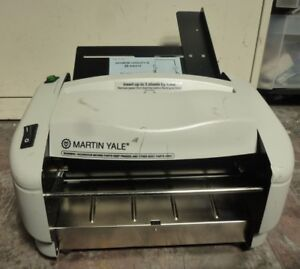 Martin Yale P7400 Premier Rapidfold Auto Feed Paper Folding Machine Non Tested