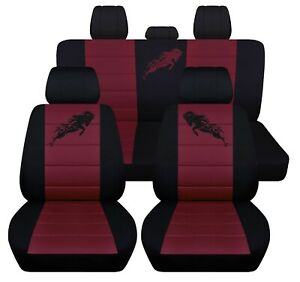 Fits 2012 To 2018 Dodge Ram Front And Rear Seat Covers 22 Color Choices Abf
