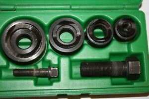 Greenlee 735bb Round Knockout Punch Kit 1 2 To 1 1 4 In