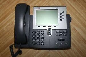 Cisco Systems Desktop Office Business Phone Lot Of 12 Model 7960g W Handset Voip
