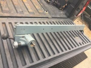 Delta Rockwell Table Saw Fence In Nice Shape Fits 1 3 8 Tubes