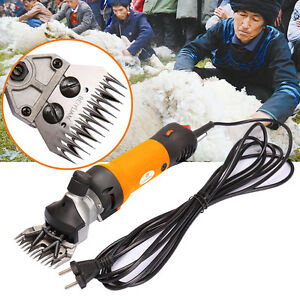 Electric Sheep Shears Goat Clipper Animal Shave Grooming Farm Supplies Livestock