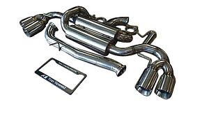 Audi Tts 09 13 Top Speed Pro 1 Street Spec Exhaust System 102mm Polished Tips