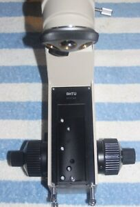 Olympus Bh2 Microscope Stand With 5 Position Objective Turret