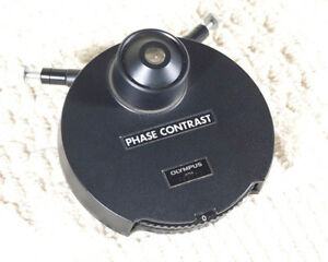Olympus 1 25 Phase Contrast Condenser For Bh2 bht bhtu bhs Microscope