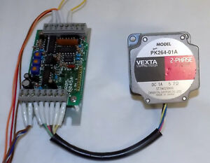 Vexta Pk264 01a 2 phase Stepping Motor With E0r05 8045a Controller