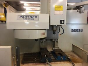 Used Milltronics Mm 18 Cnc Vertical Mill 2007 30 18 18 8000 Rpm 16 Tools