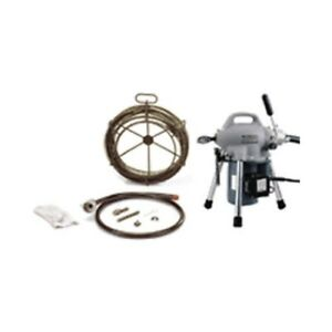 Ridgid 58960 K 50 Sectional Machine With A 30 Cable Kit58920 59365