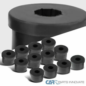 79 04 Ford Mustang Black Spec d Rear Control Arms Polyurethane Bushings 12pc