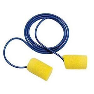3m E a r Classic Pvc Foam Corded Earplugs 200 Pair Per Box