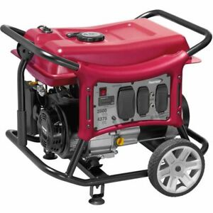 Powermate Cx3500 3500 Watt Portable Generator W Rv Outlet 49 state