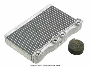 Bmw E38 1995 2001 Heater Core With Aluminum Water Box Nissens