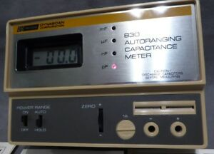 Vtg Bk Precision 830 Autoranging Digital Capacitance Meter dynascan Corporation
