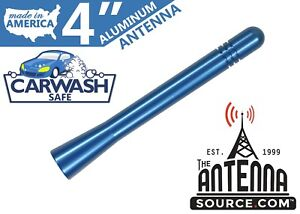 Short 4 Aluminum Blue Antenna Mast Fits 1992 2005 Gmc Jimmy