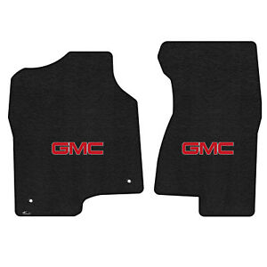 Lloyd Mats Ultimat 2 Piece Floor Mat Set Black 2000 2006 Yukon With Gmc Logo