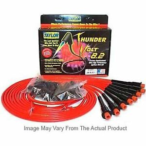 Taylor Cable New Set Of 8 Spark Plug Wires Chevy Chevrolet Corvette 1992 1996