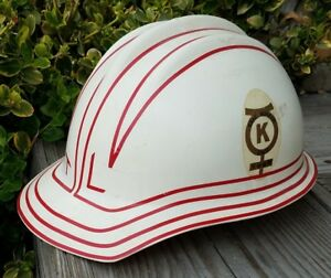 Vintage Bullard Hard Hat 302 303 Plastic Safety Helmet Hard Hat