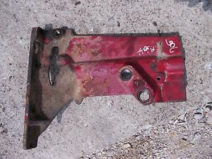 Farmall 706 806 Tractor Ihc Dash Tower Right Mounting Hydraulic Outlet Bracket